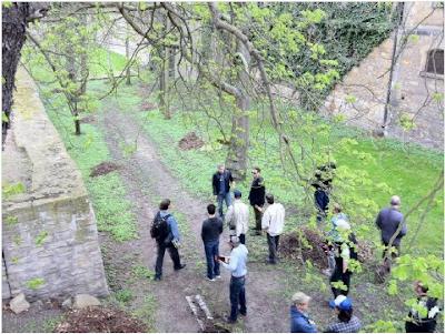 Photos and videos: George Clooney filming in Merseburg Georgeberlin2