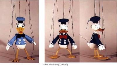 Les Marionnettes Disney de Bob Baker Donald