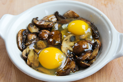 Recipe for Baked Eggs with Mushrooms and Parmesan Baked-eggs-mushrooms-4-kalynskitchen