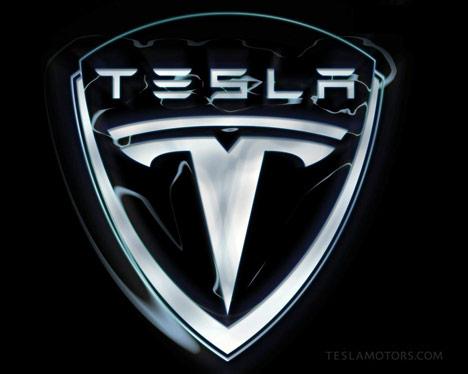 Tesla logo shaped UFO caught on ISS live feed camera Tesla-motors-logo-black-photo23