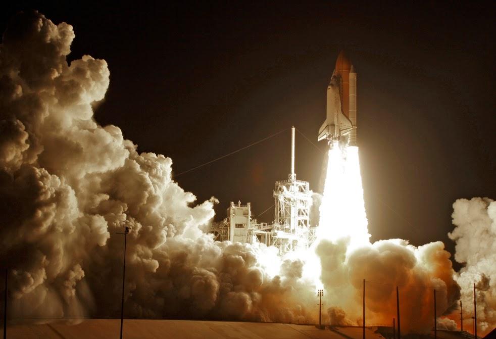 --Работа шаттла на орбите : фотографии-- ShuttleK