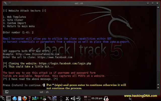Hack account facebook với BackTrack 5 !!! Setwithbacktrack6