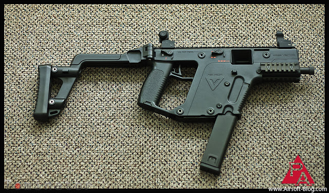 KWA – KRISS Vector SMG GBB et gamme 2012
