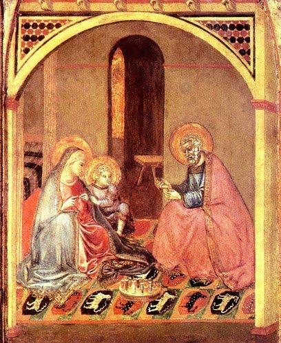 The History of Knitting. Lorenzetti