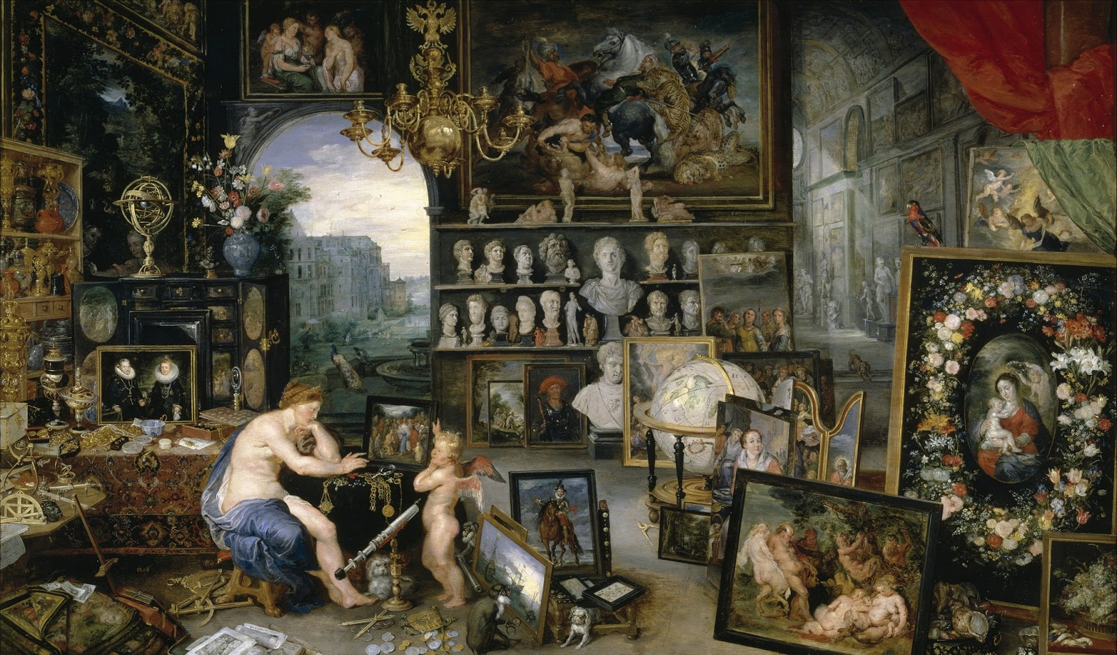 Jan Brueghel De Velours. KKK