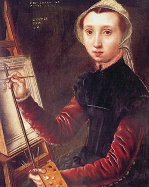 2. Técnicas y medios de la pintura y el dibujo Van-hemessen-autorretrato-pintores-y-pinturas-juan-carlos-boveri