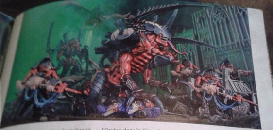 New Tyranid Monster Sighted Maleceptor