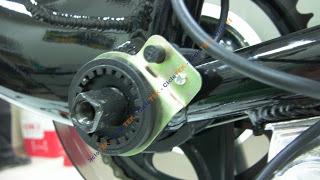 montaje pas - Montaje del sensor de pedaleo  PAS SANY0240