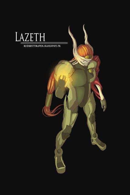 La galerie dessinée de Raven LazethRRR