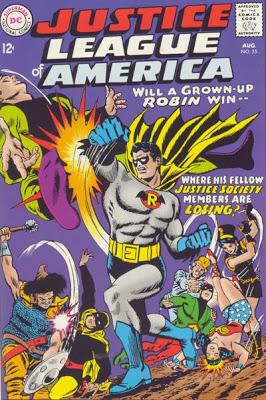 Favorite comic book version of Robin?  (Batman's partner) Justice_League_of_America_v.1_55