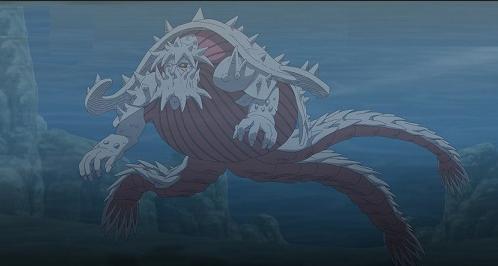 Tamanho das criaturas de Naruto (Para descontrair) 2