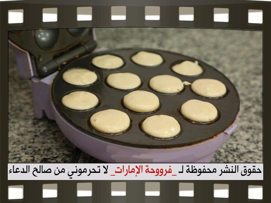 حلى قهوة لذيذ كرات الدونات باللوتس بالصور 12