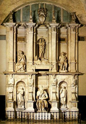 1. El papado en el S. XV Mausoleo_JulioII