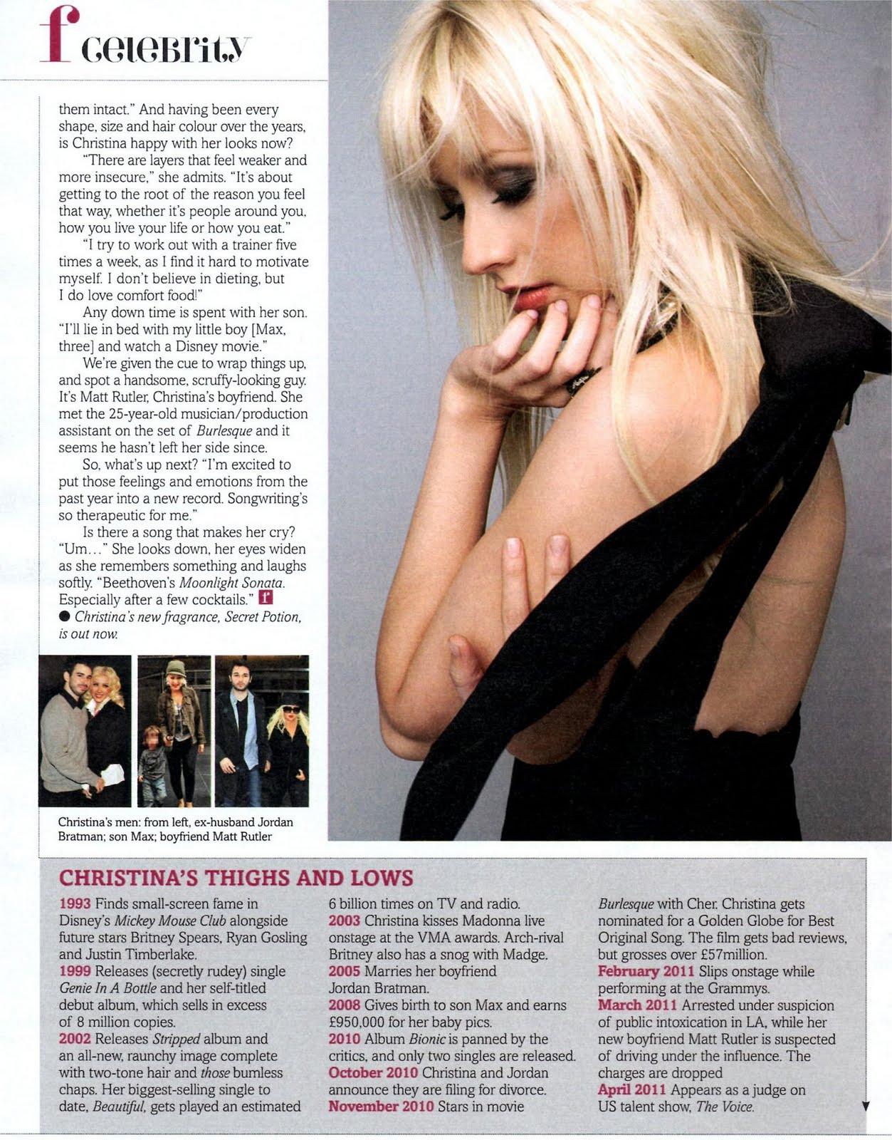 [Scan] Fabulous Magazine: Nueva entrevista a Chistina Aguilera 2011Fabolous%2B%2528Oct%25293
