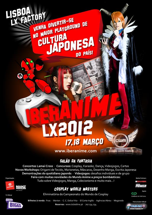[Evento] IberAnimeLX 2012 - 17 e 18 de Março Ialx2012_cartazA2