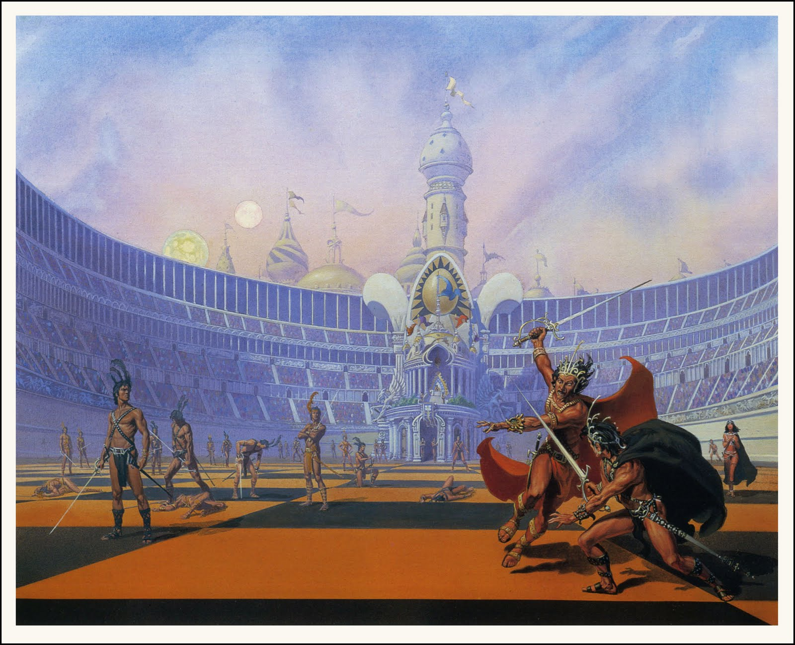 Skimpy Outfits (loincloths) In Fanasty and Conan - Page 12 MichaelWhelan_ChessmenOfMars_100