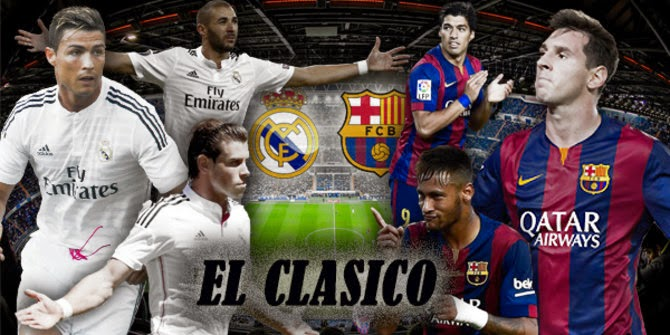 El Clásico << Real Madrid /// Barcelona >> El-clasico