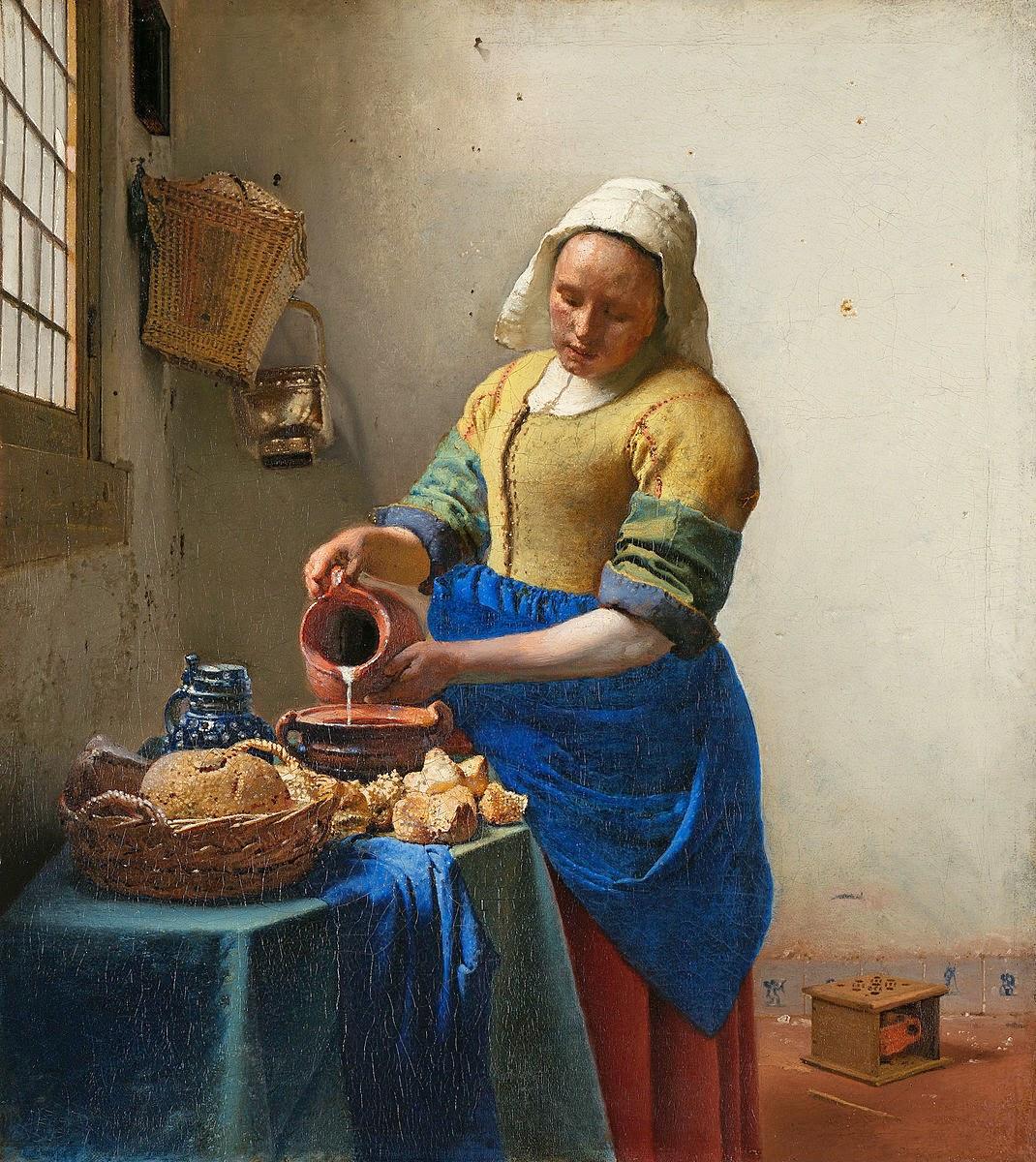 Impresionismo .. - Página 2 Johannes_Vermeer_-_Het_melkmeisje_-_Google_Art_Project
