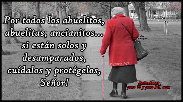 >>>Para todos los abuelos...>>> Anciana