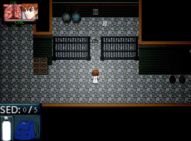 [RPG Maker XP] Autopsia (Survival Horror) Hud