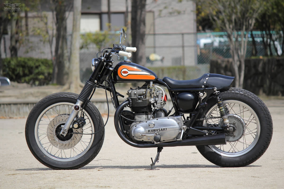 Kawasaki W3 Kawasaki-W3-Dirt-Tracker-Goods-Custom-Motorcycles-2