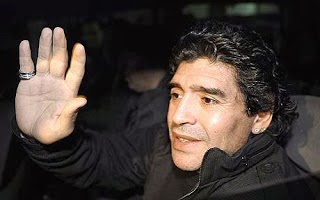 Maradona Writes-off The Super Eagles For 2014 World Cup Maradona