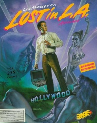 Les Manley In: Lost in L.A  Les_Manley_2_-_Portada