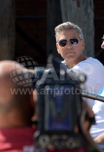 George Clooney arrives in Venice 24414932