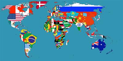 உலக நாடுகளின் கொடிகள் Flag_Map_of_the_World