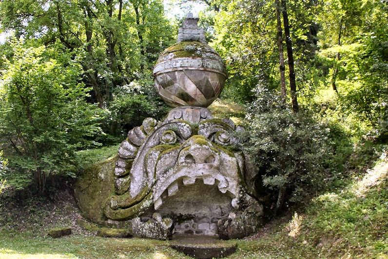 Le jardin des monstres de Bomarzo D757E29C29A68046AA76D11DC90FD181