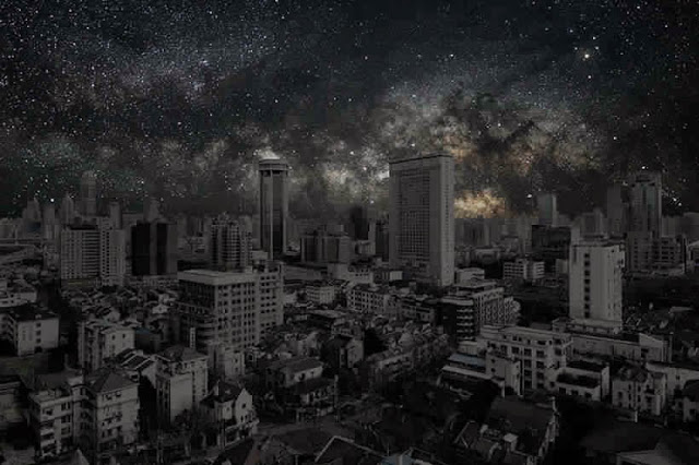 كيف ستبدوا المدن الكبرى لو خيم عليها الظــلآم الدامـس ..؟! Shanghai2