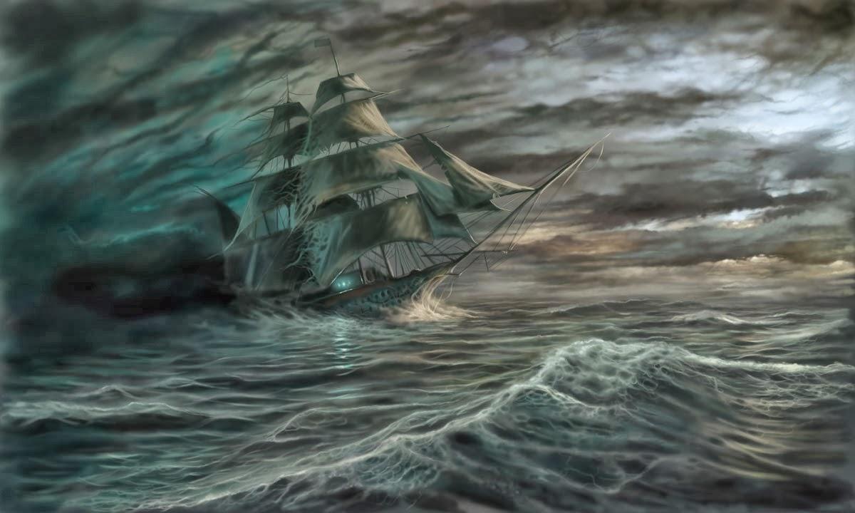 """Le nouveau mousse se lance dans """"La Bretagne"""" 1/80 (ALTAYA) par dede_bo - Page 3 Ghostship"""