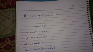ورقة اسئلة + اجابة امتحان الفرنساوي ثانوية عامة 2015 المسرب على الانترنت 11401128_841879495891793_4335448222396900353_n