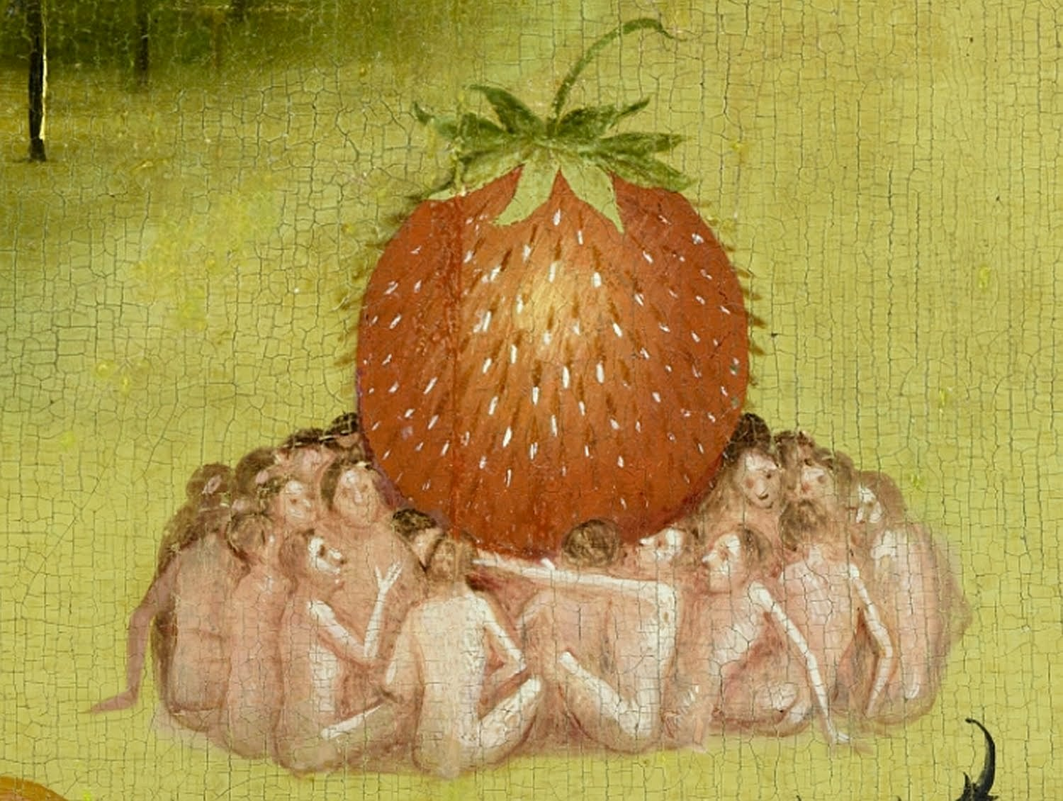Con que me sorprendes hoy??? Bosch_hieronymus_-_the_garden_of_earthly_delights_central_panel_-_detail_strawberry2