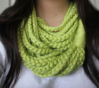 Chain Loop Scarf IMG_9413