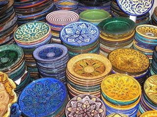 أطباق و أواني من الفخار صنع المغرب 5