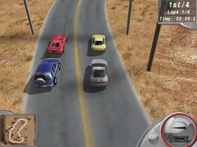تحميل افضل العاب خفيفة للكمبيوتر 2013 (اكثر من 50 لعبة) Crazy-racing-cars