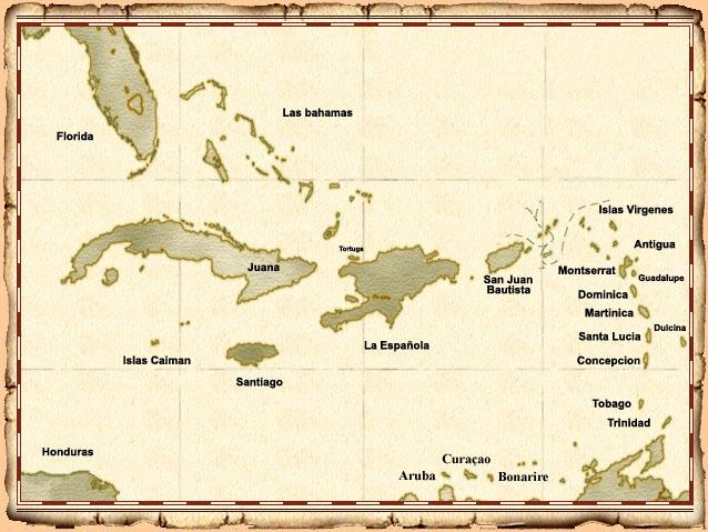 Bartolomé de las Casas Islas_del_Caribe