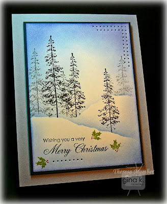 25 novembre - Comment faire un paysage d'hiver Very-Blue-Christmas