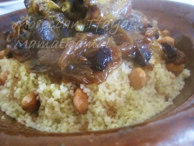 Tfaya Recipe or Caramelized Onions and Raisins / Recette de Tfaya ou les Oignons Caramélisés et raisins secs à la marocaine 0115