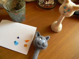 Мастер класс по созданию парных кошек     Elchy DSCN6061