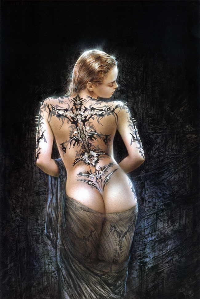 Fantasy art FantasyArtLuisRoyoTattooWomanGothicddspornteenqwerty1209140645