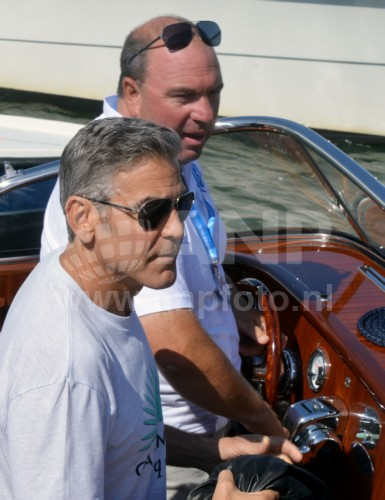 George Clooney arrives in Venice 24414808