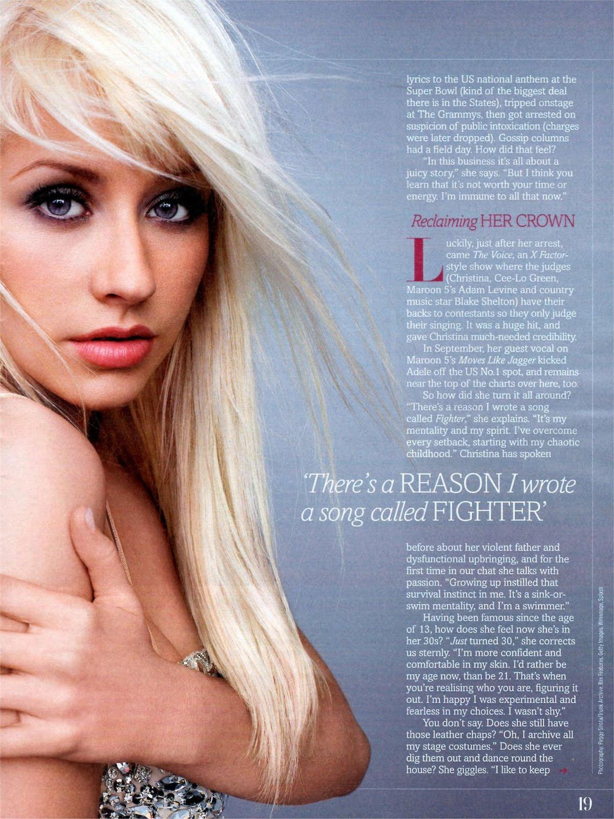 [Scan] Fabulous Magazine: Nueva entrevista a Chistina Aguilera 2011%2BFabolous%2B%2528Oct%25292