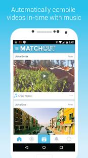 تطبيق | تحميل افضل تطبيق لتحرير أفلام الفيديو وملفات الموسيقى في أقل من 30 ثانية للاندرويد Match Cut  MatchCut%2B%282%29