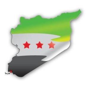 الليبى - هدية الشعب الليبى لثوره السوريه-مع الرابر zombie New%2Bflag%2Bof%2BSyria
