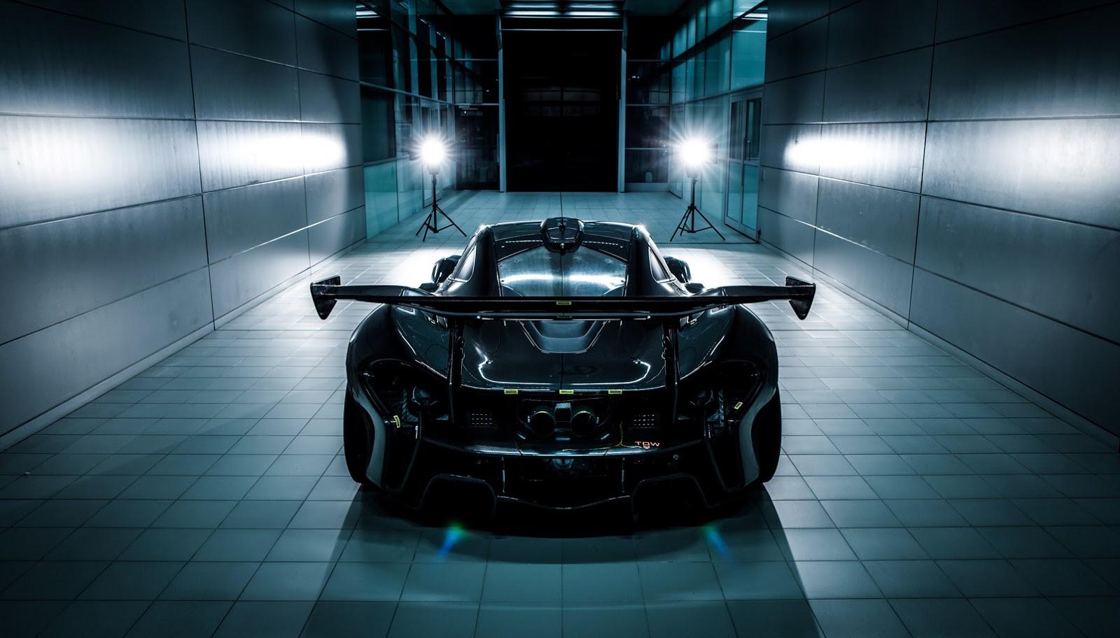 2013 - [Mclaren] P1 [P12] - Page 10 McLaren-P1-GTR-1