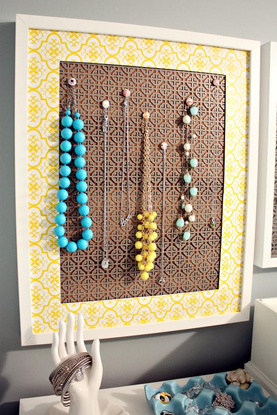 DIY : des idées et des tutos pour faire du beau avec ses papattes  - Page 2 DIYJewelryHolderStorage5