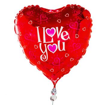 فَوَضَى . .|مَشَآأإعَرْ |. . Balloon_i_love_you-1385