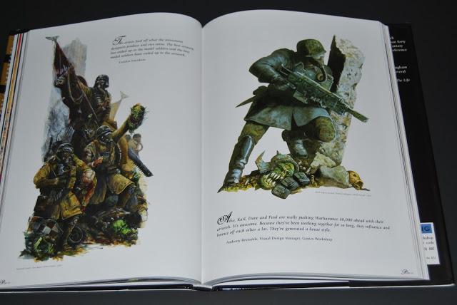 Artbook Review : The Art Of Warhammer 40 000  DSC_0825
